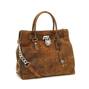 Michael Kors 'Hamilton'Large Distressed Tote